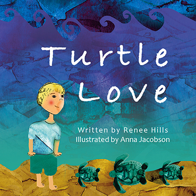 Turtle Love Picture Book Illustrations, 2017